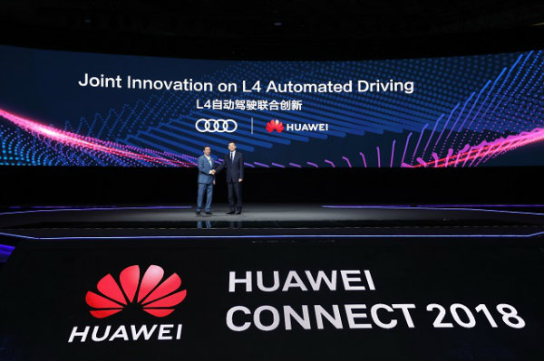 Huawei and Audi Announce Joint Innovation